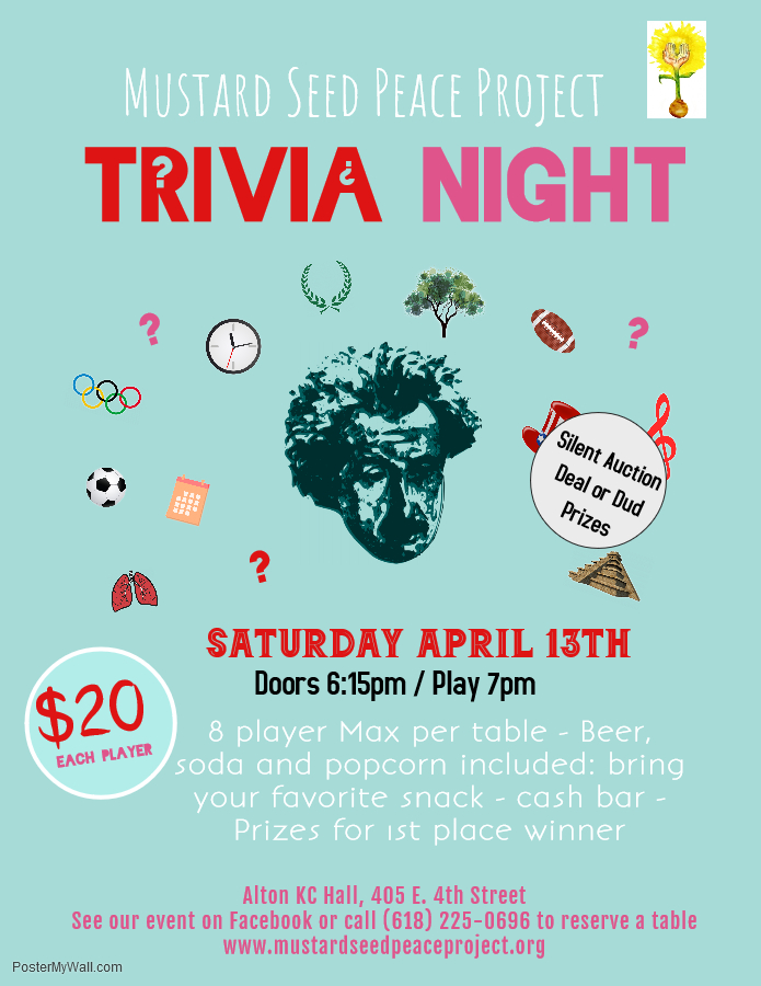 2019 Trivia Flyer - Made with PosterMyWall